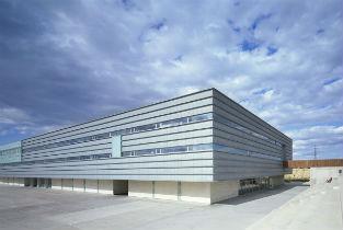 Polytechnich building C.E.U. in Madrid