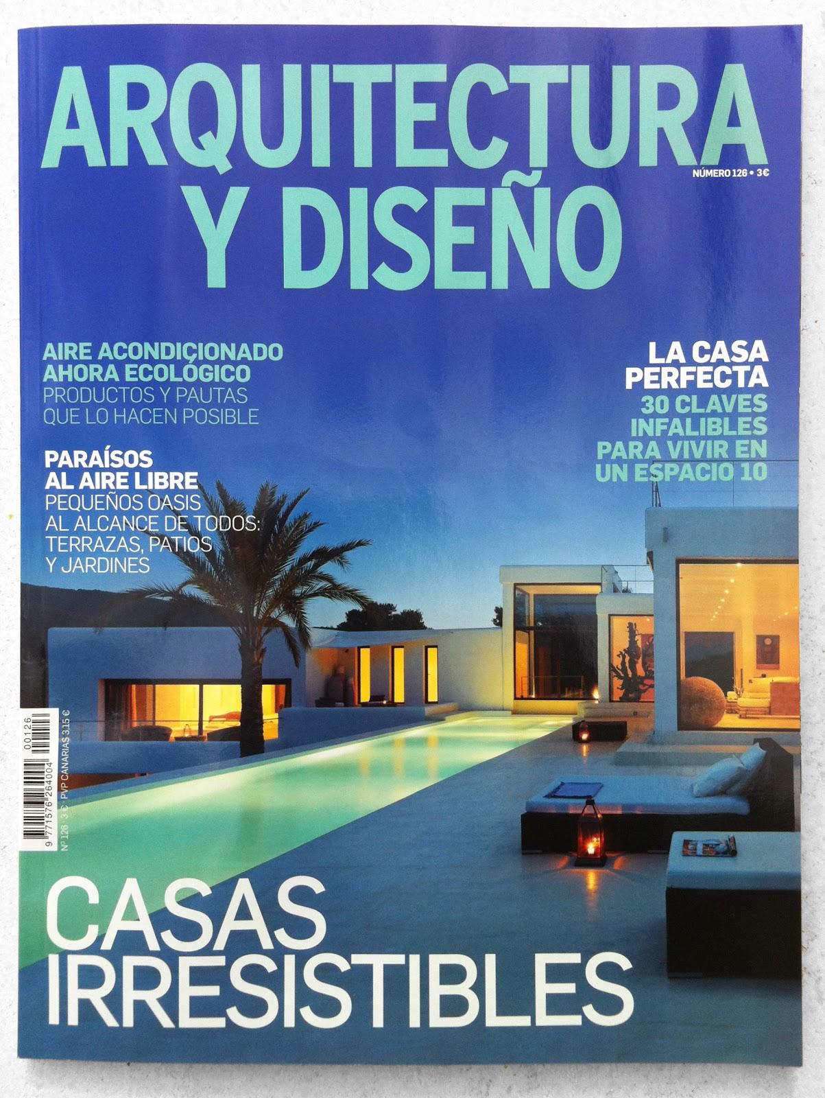 El numero 126 de la revista arquitectura y dise o publica for Revista habitat arquitectura diseno interiorismo