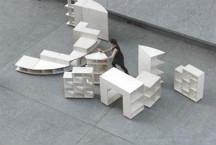 Ideas City ephemeral installation for Cooper Union New York