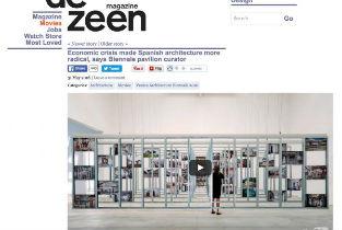 Dezeen - economic crisis made spanish Architecture more radical