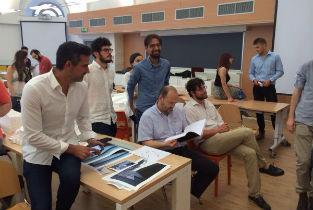 Iñaqui Carnicero invited to Politecnico di Milano, final reviews Francisco Mangado´s Studio