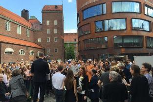 KTH Diploma Days in Stockholm. Iñaqui Carnicero and Lorena del Rio invited as external jurors