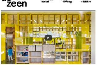 The kindergarten English for fun published on Dezeen