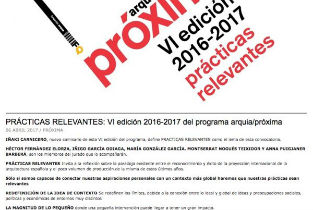 Iñaqui Carnicero as Curator of Arquia Proxima 2017 will be launching