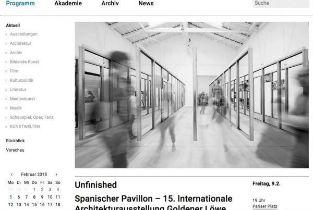 Unfinished exhibition opening at the Akademie der Künste in Berlin