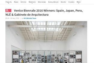 Archdaily Venice Biennale 2016 Winners