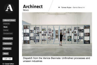 Archinet Dispatch from the Venice Biennale- Unfinished processes and unseen industries-min