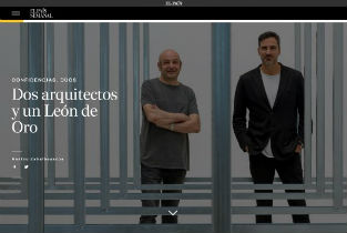 Iñaqui Carnicero and Carlos Quintans article in El Pais semanal