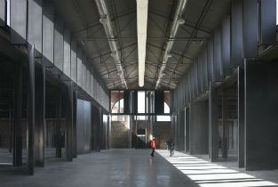 Hangar 16 in the former Slaughter House of Madrid
