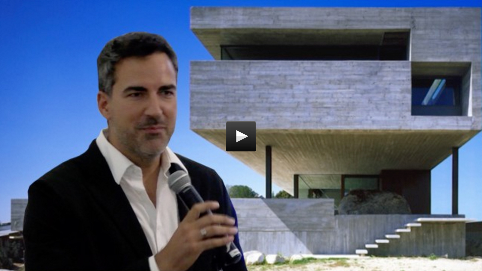 Iñaqui Carnicero on streaming lecturing at The Academy of Art University